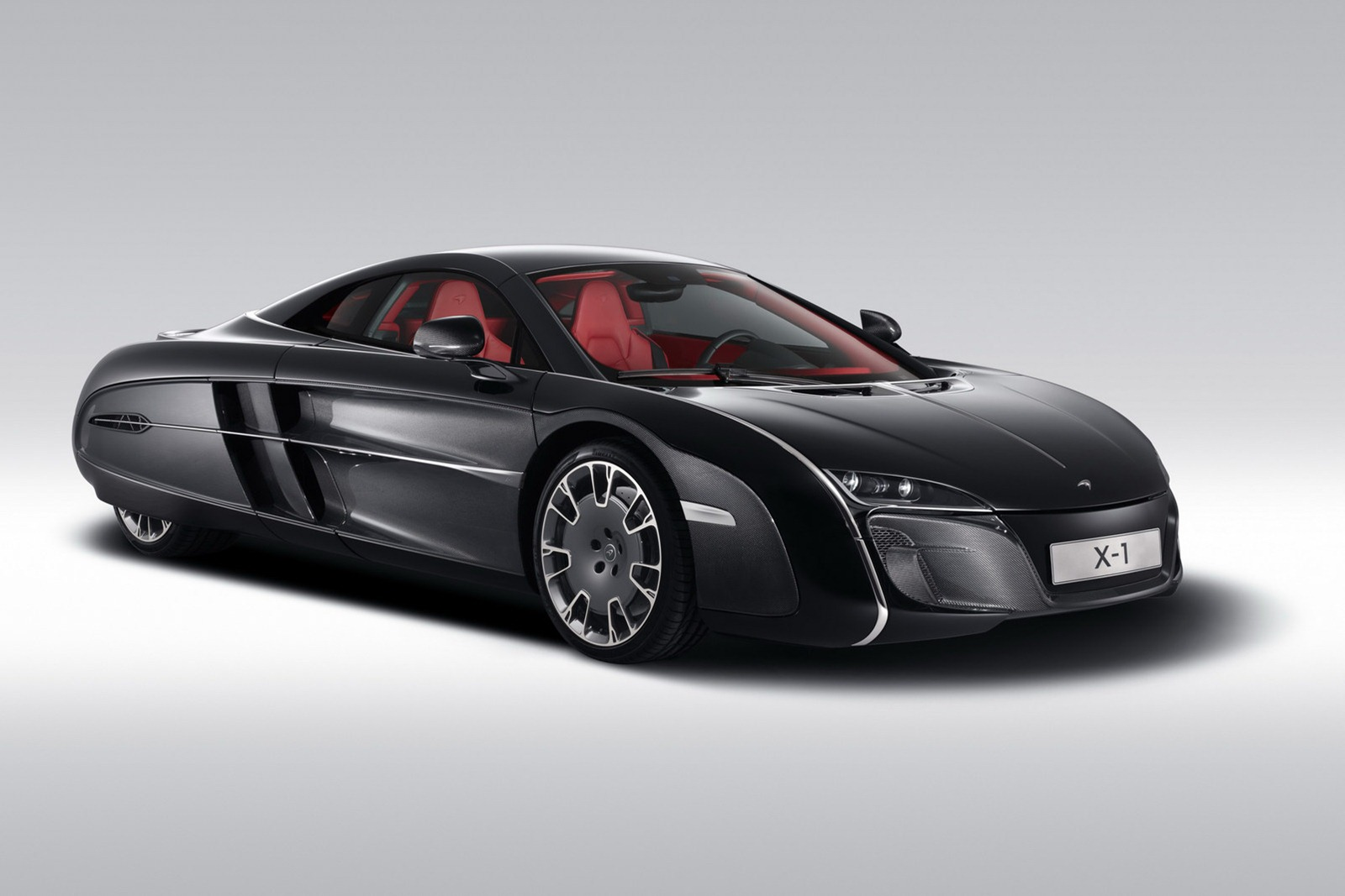 McLaren X 1 Concept McLaren closely follows the footsteps of Ferrari   customizes a vehicle  for a client