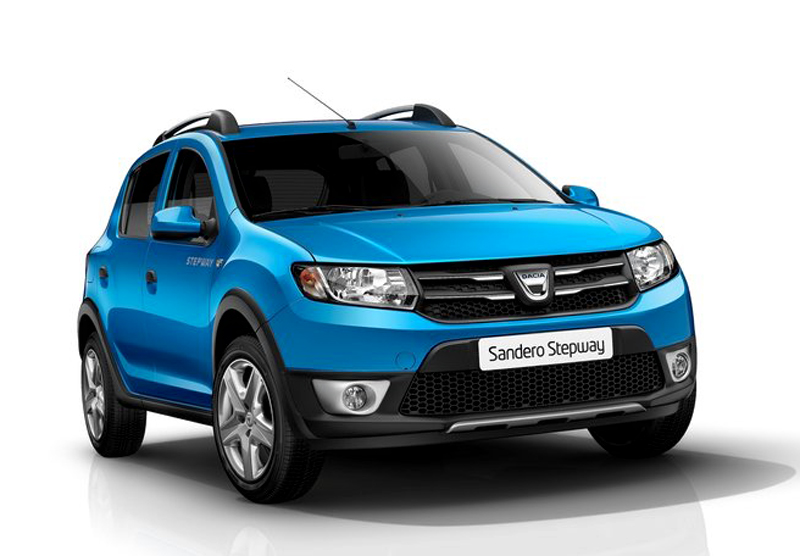 2013 Dacia Sandero Stepway 2013 Dacia Sandero Stepway launched at the Paris motor show