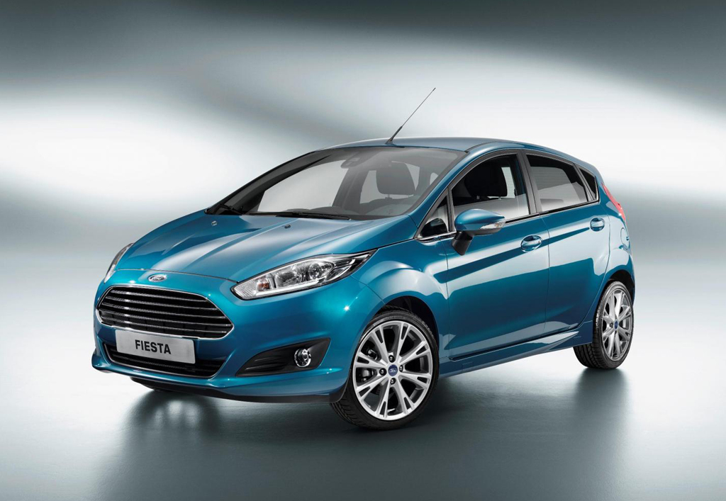 2013 Ford Fiesta Facelift The new 2013 Ford Fiesta Facelift launched at the Paris Motor Show