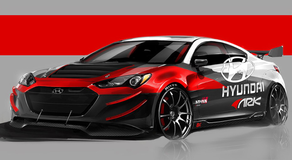 2013 Hyundai Genesis Coupe R Spec Track Edition 2013 Hyundai Genesis Coupe R Spec Track Edition announced for SEMA