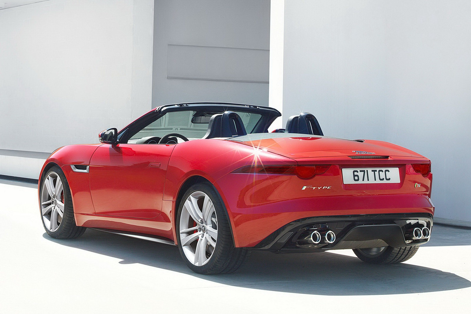 2013 Jaguar F Type 3 Jaguar launches 2013 F Type models at the Paris motor show