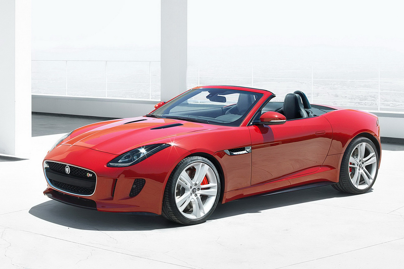 2013 Jaguar F Type Jaguar launches 2013 F Type models at the Paris motor show