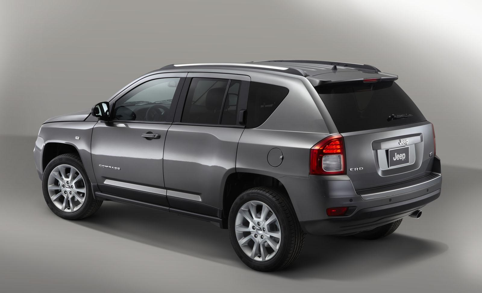 2013 Jeep Compass Overland 1 Jeep to launch 2013 three models at Paris Motor Show