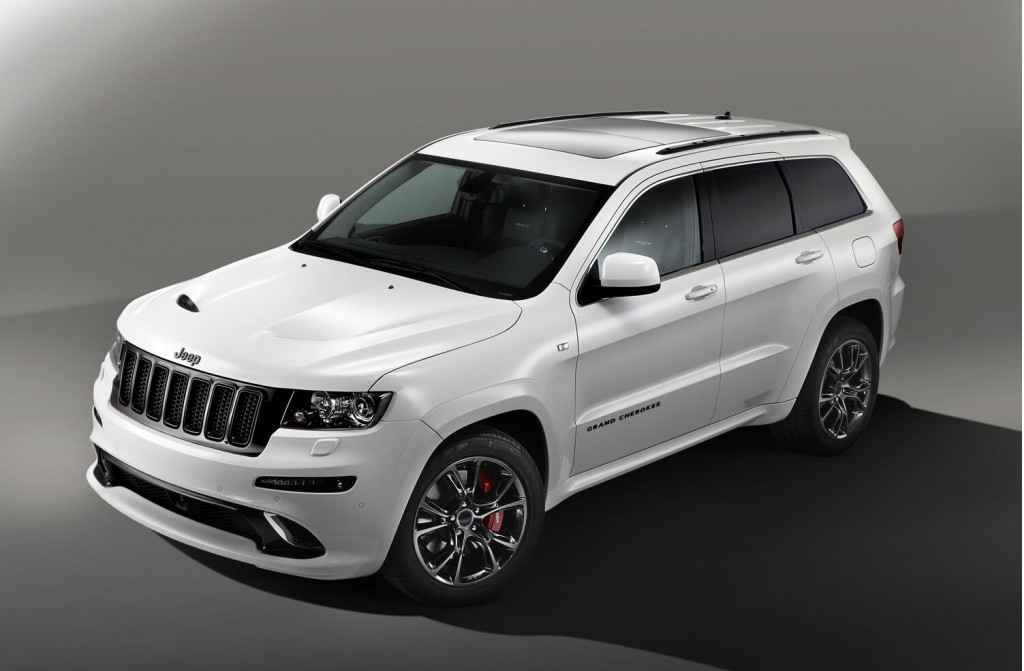 2013 Jeep Grand Cherokee SR8 Special Edition Jeep to launch 2013 three models at Paris Motor Show