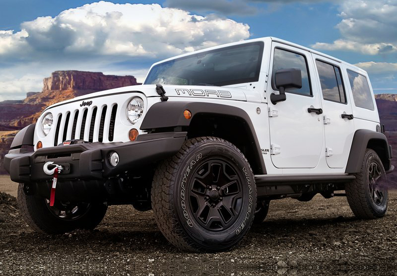2013 Jeep Wrangler Unlimited Moab Is An Action Packed Off
