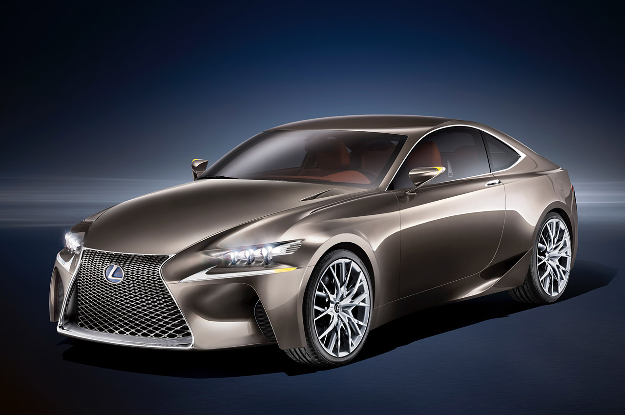 2013 Lexus LF CC Concept 2013 Lexus LF CC Concept ready for World Premiere at Paris Motor Show