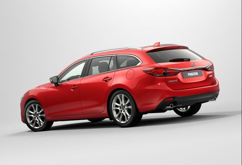 2013 Mazda 6 Wagon 4 The 2013 Mazda 6 Wagon launched at the Paris Motor Show