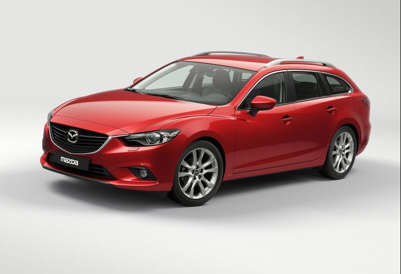 2013 Mazda 6 Wagon The 2013 Mazda 6 Wagon launched at the Paris Motor Show