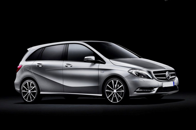 2013 Mercedes Benz B Class EV Concept 2013 Mercedes Benz B Class EV Concept to debut at the Paris Motor Show