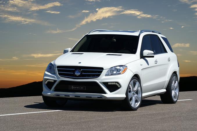 2013 Mercedes Benz ML Hofele Design shapes up 2013 Mercedes Benz ML