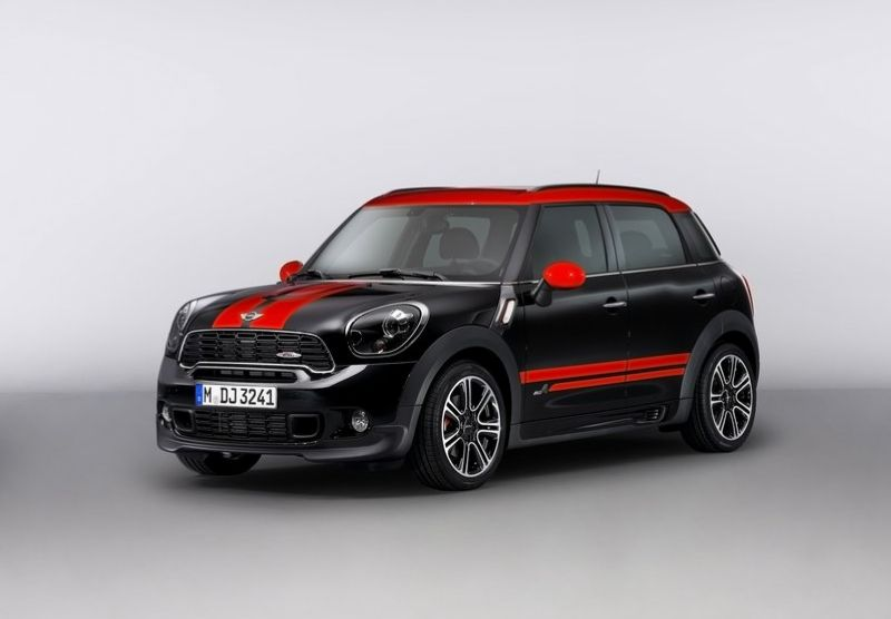 2013 Mini Countryman John Cooper Works 2013 Mini Countryman John Cooper Works expands the MINI family