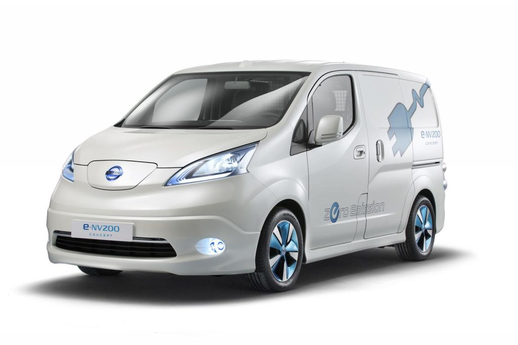 2013 Nissan e NV200 Panel Van Concept 2013 Nissan e NV200 Panel Van Concept unveiled at the IAA show in Hanover