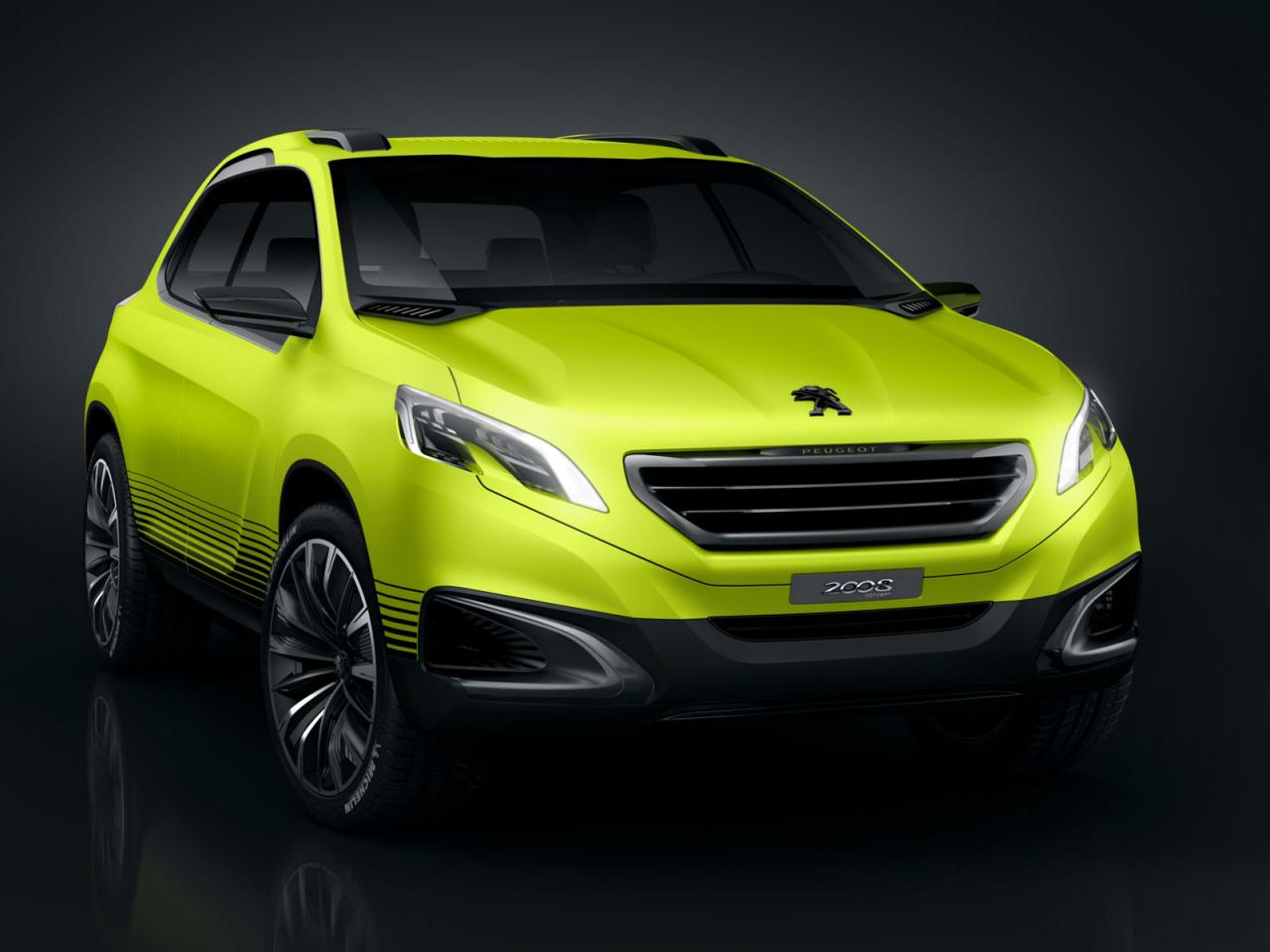 2013 Peugeot 2008 Concept 1 2013 Peugeot 2008 Concept gets leaked before it gets showcased