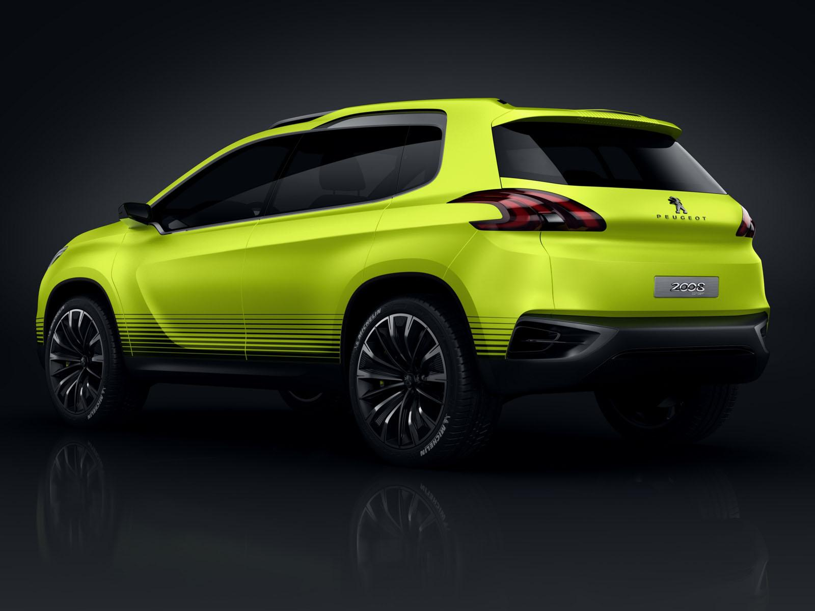 2013 Peugeot 2008 Concept 3 2013 Peugeot 2008 Concept gets leaked before it gets showcased