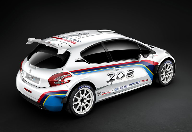 2013 Peugeot 208 R5 2 Peugeot launches the new 2013 208 R5 Rally car