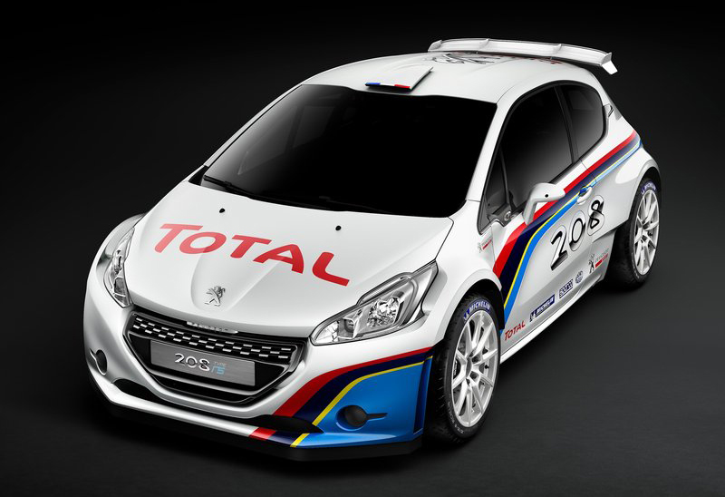 2013 Peugeot 208 R5 Peugeot launches the new 2013 208 R5 Rally car