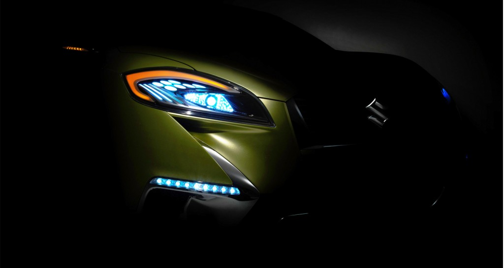 2013 Suzuki S Cross Concept Second Teaser of 2013 Suzuki S Cross Concept released