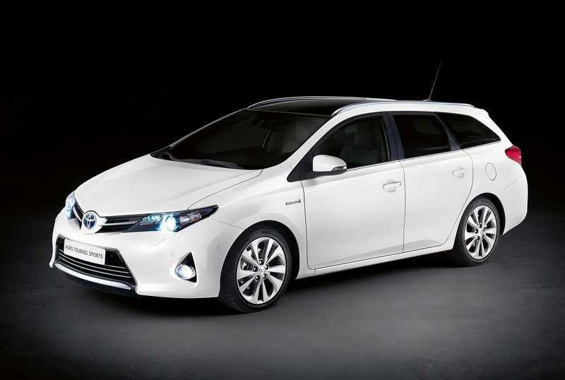 2013 Toyota Auris Touring Sports The all new 2013 Toyota Auris Touring Sports launched at the Paris Motor Show
