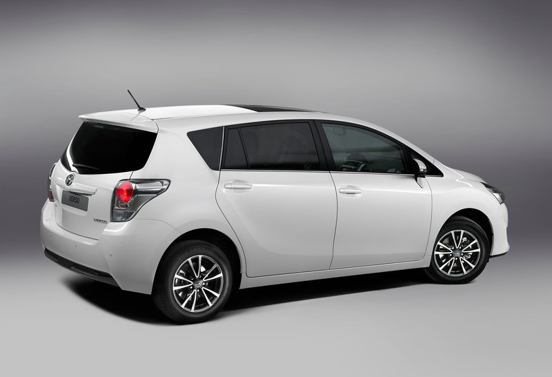 2013 Toyota Verso MPV 2 2013 Toyota Verso MPV to be launched at the Paris Motor Show