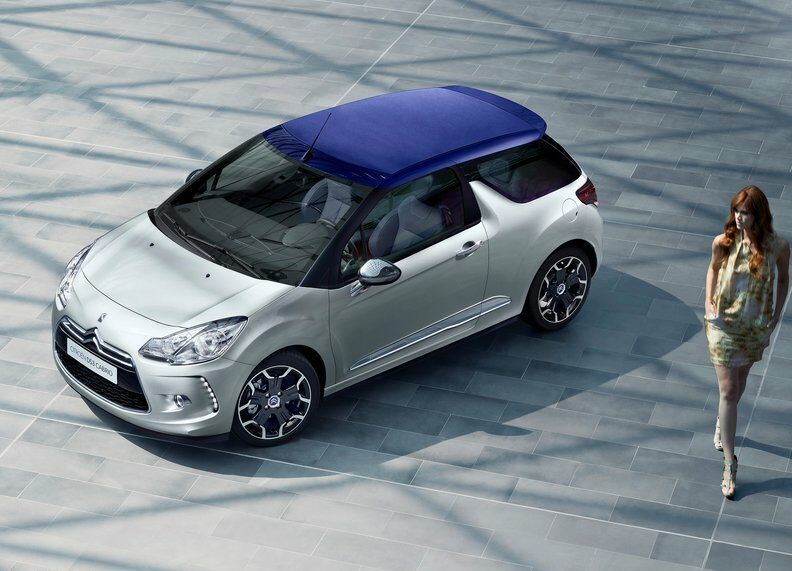 2014 Citroen DS3 Cabrio 9 2014 Citroen DS3 Cabrio features and photos