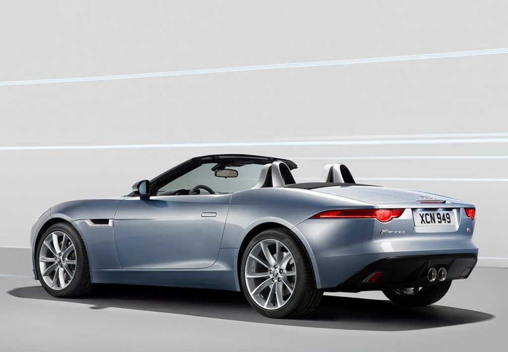 2014 Jaguar F Type 1 Jaguar F Type 2014 launched at the Paris motor show