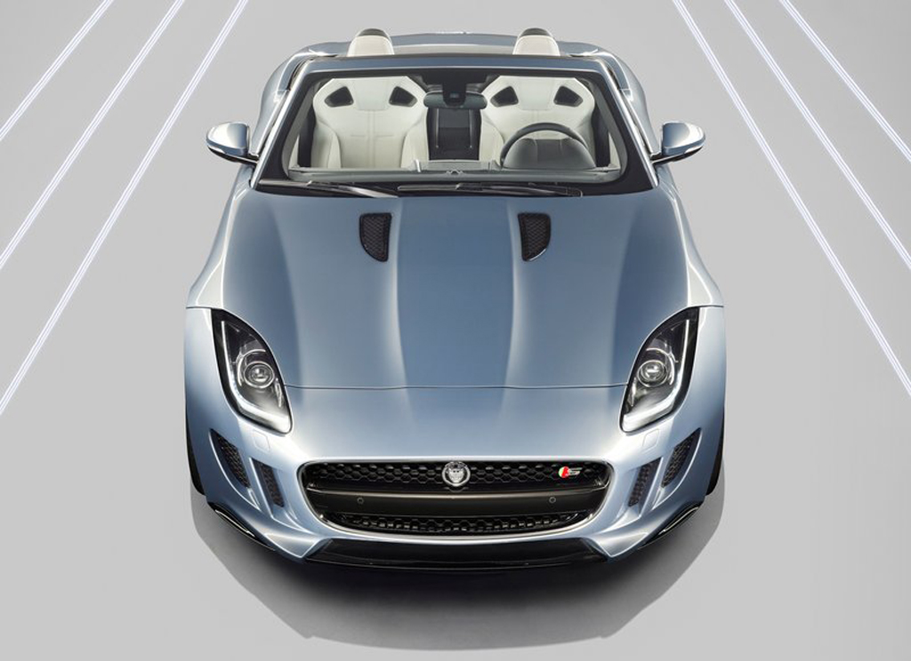 2014 Jaguar F Type Jaguar F Type 2014 launched at the Paris motor show