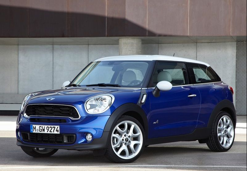 2014 Mini Paceman 2014 Mini Paceman   A Mini Showpiece with Excellent Color Contrast