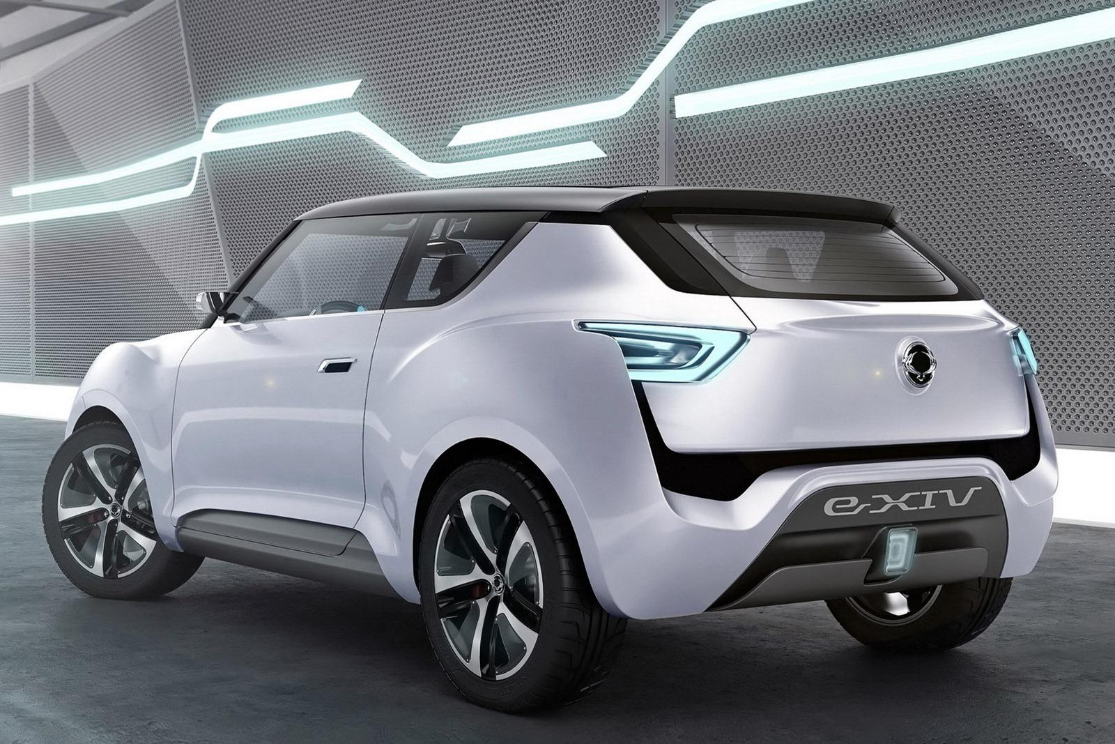 2014 SsangYong E XIV Concept 2 2014 SsangYong E XIV Concept to debut at the Paris Motor Show