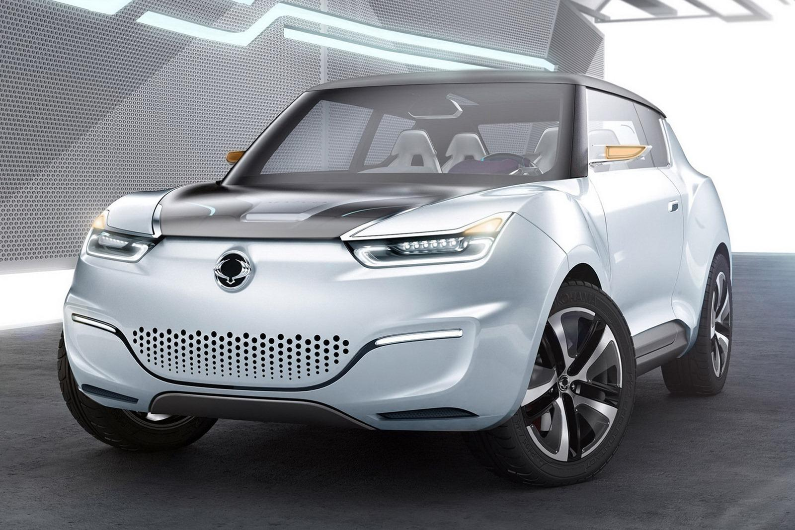 2014 SsangYong E XIV Concept 2014 SsangYong E XIV Concept to debut at the Paris Motor Show