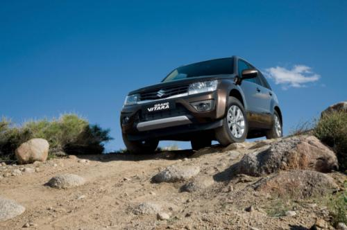 Suzuki Grand Vitara 1 Suzuki Grand Vitara gets a more polished look after its remodelling
