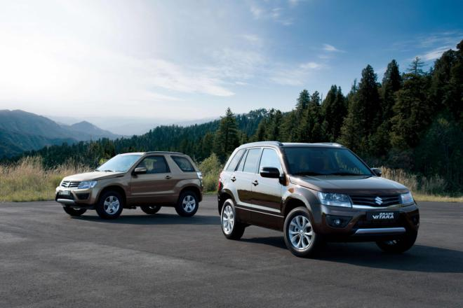 Suzuki Grand Vitara 3 Suzuki Grand Vitara gets a more polished look after its remodelling