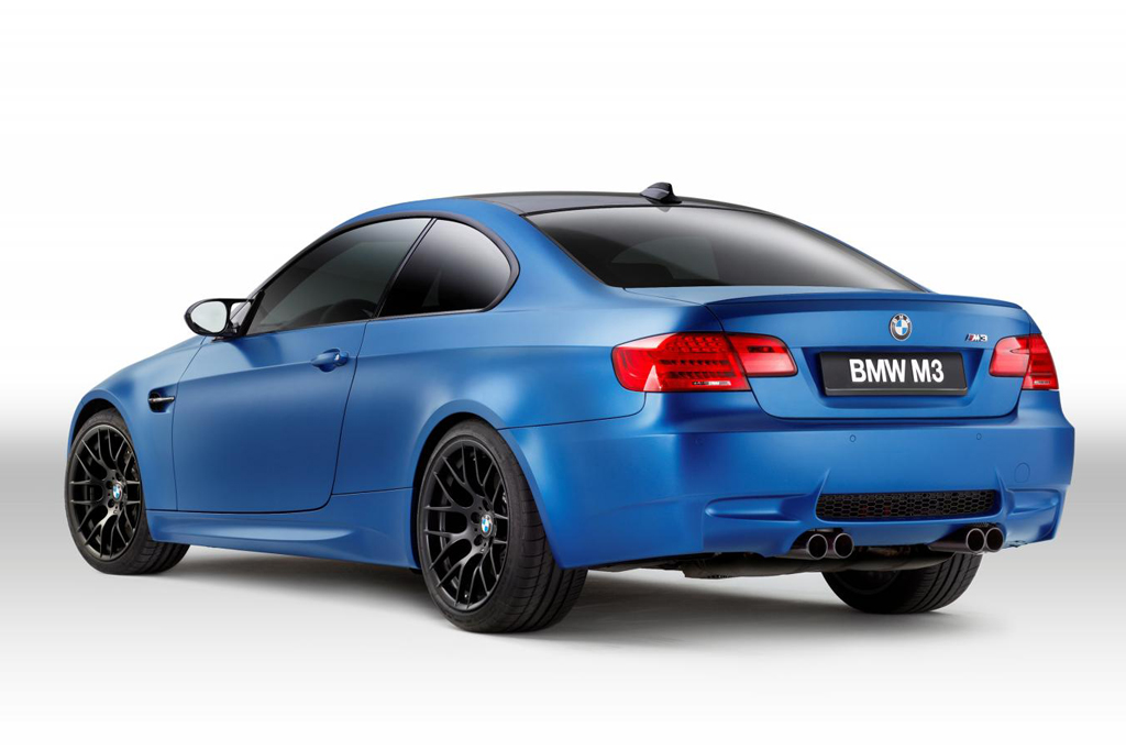 2013 BMW M3 Coupe Frozen Limited Edition 1 German automaker BMW's 2013 Frozen M3 Coupe released