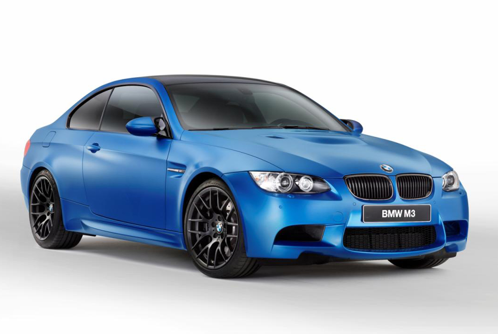 2013 BMW M3 Coupe Frozen Limited Edition German automaker BMW's 2013 Frozen M3 Coupe released