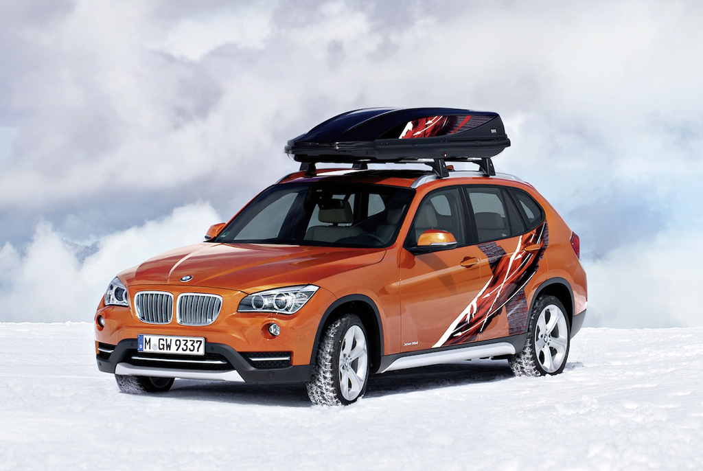 2013 BMW X1 Powder Ride Edition 1 BMW launches the 2013 K2 Power Ride concept and X1 Power Ride Edition