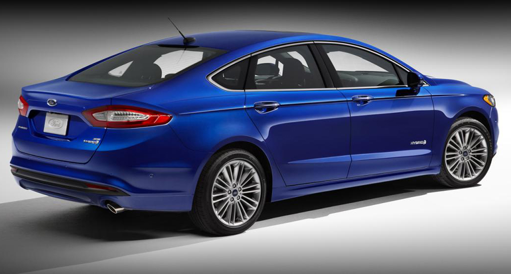 2013 Ford Fusion Hybrid Titanium 2 Ford has unveiled the new 2013 Fusion Hybrid Titanium model