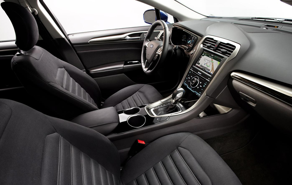 ford has unveiled the new 2013 fusion hybrid titanium model. Black Bedroom Furniture Sets. Home Design Ideas