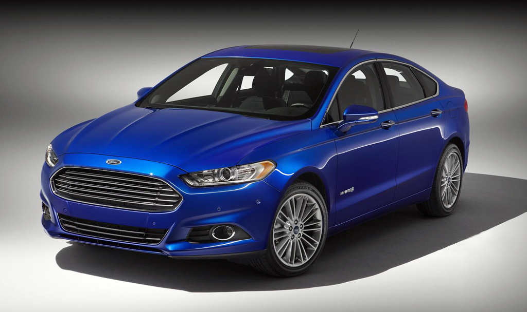 2013 Ford Fusion Hybrid Titanium Ford has unveiled the new 2013 Fusion Hybrid Titanium model