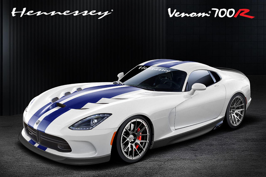 2013 Hennessey Venom 700R Hennessey Performance reveals the turbo charged 2013 Viper Venom models