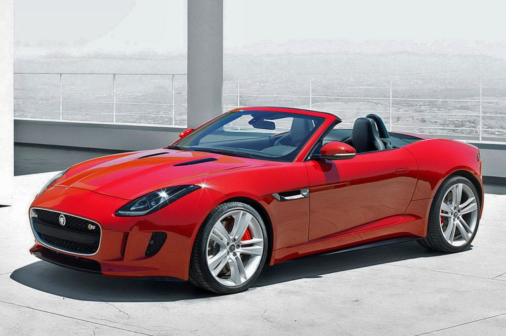 2013 Jaguar F Type1 Jaguar F type (2013) convertible revealed