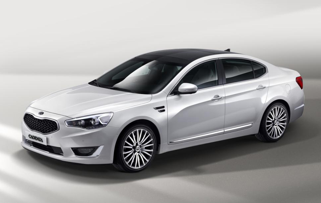 2013 Kia Cadenza K7 Kia Cadenza (2013) K7's details on modifications revealed