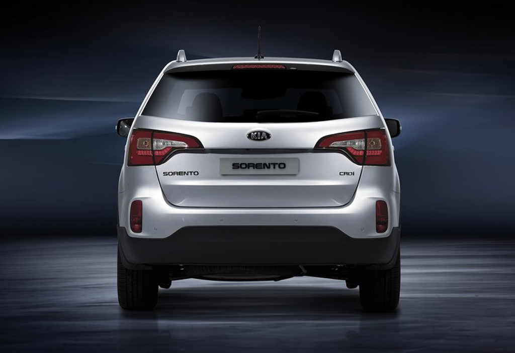 2013 Kia Sorento EU Version 3 2013 Kia Sorento EU Version revealed