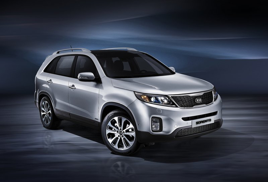 2013 Kia Sorento EU Version 2013 Kia Sorento EU Version revealed
