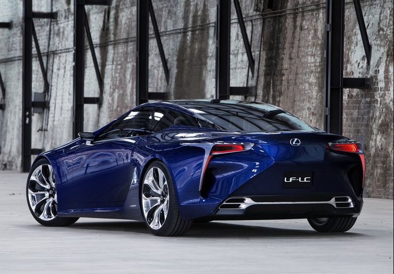 2013 Lexus LF LC Blue Concept 2 2013 Lexus LF LC Blue Concept has been introduced
