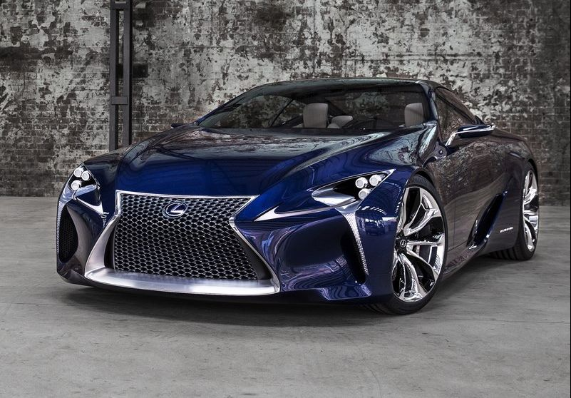 2013 Lexus LF LC Blue Concept 2013 Lexus LF LC Blue Concept has been introduced