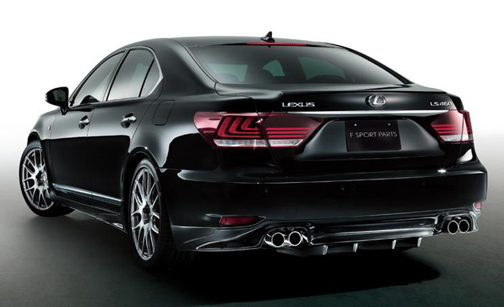 2013 Lexus LS 460 F SPORT with TRD 1 TRD comes up with a body kit for 2013 Lexus LS 460 F SPORT