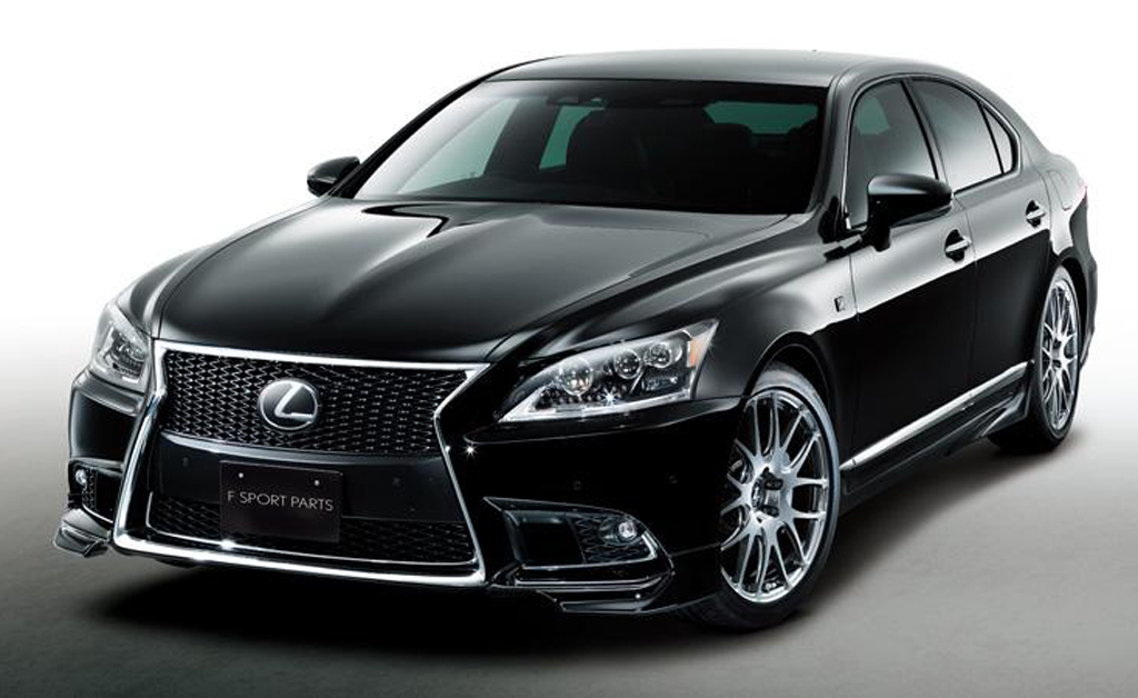 2013 Lexus LS 460 F SPORT with TRD TRD comes up with a body kit for 2013 Lexus LS 460 F SPORT