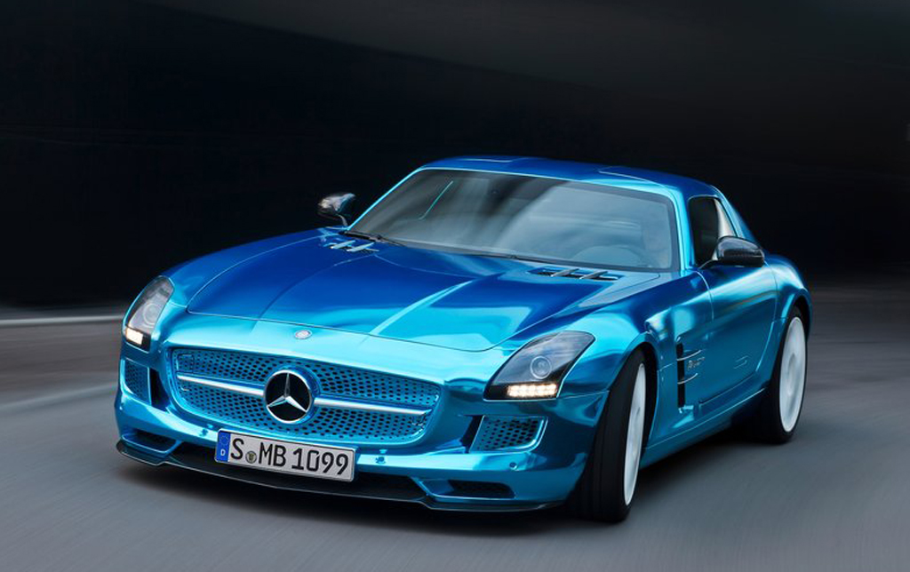 2013 Mercedes Benz SLS AMG Electric Drive Coupe 2013 Mercedes Benz SLS AMG Electric Drive Coupe revealed