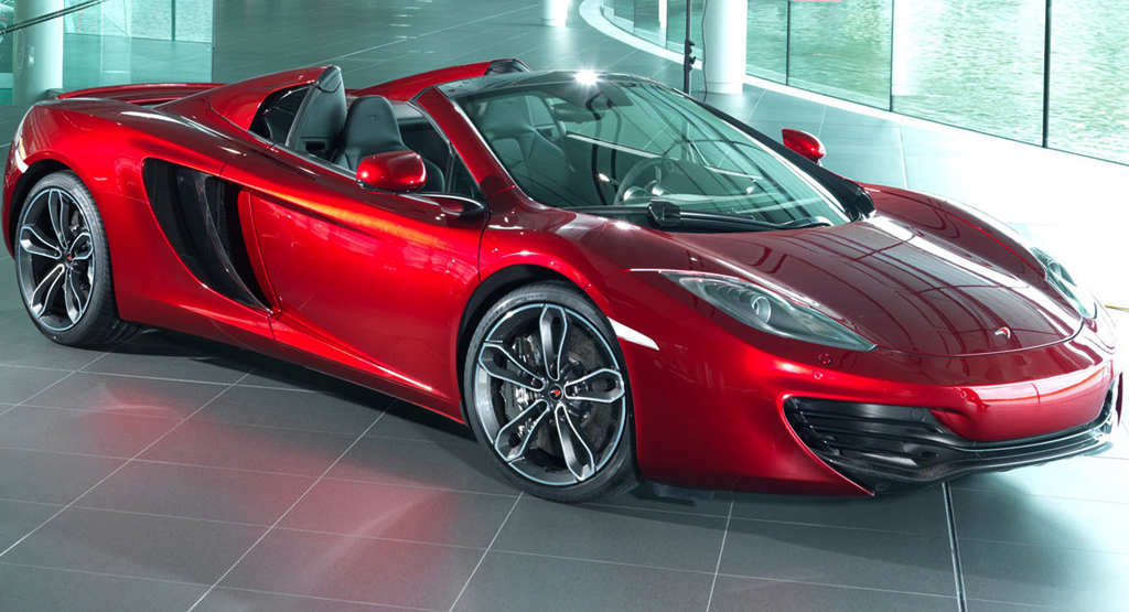 2013 Neiman Marcus Edition McLaren 12C Spider Neiman Marcus selects 2013 McLaren MP4 12C to be featured in their Christmas Book