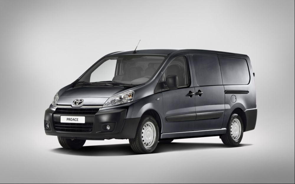 2013 Toyota ProAce Toyota ProAce scheduled to release in 2013