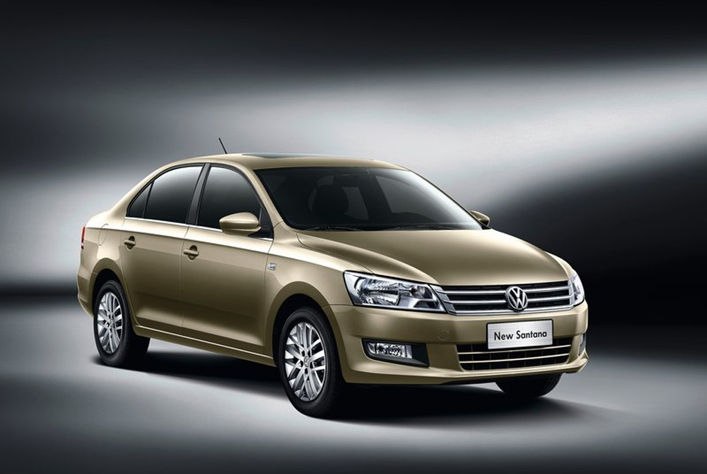 2013 Volkswagen Santana 2013 VW Santana meant for Chinese roads